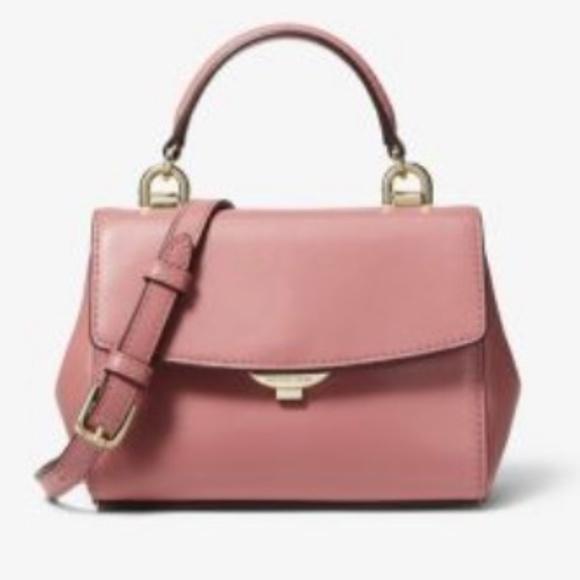 Michael Kors Handbags - MICHAEL KORS Ava Ex-Small @ ROSE Leather Crossbody